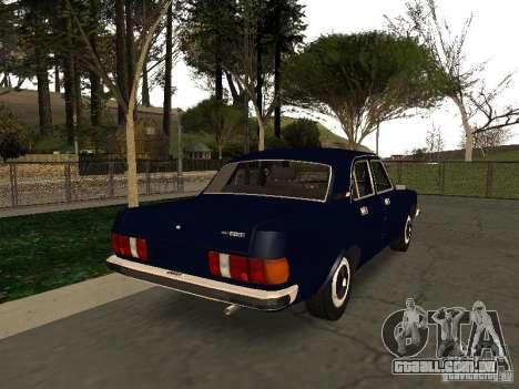 GAZ 3102 para GTA San Andreas traseira esquerda vista