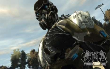 Crysis 3 The Hunter skin para GTA 4