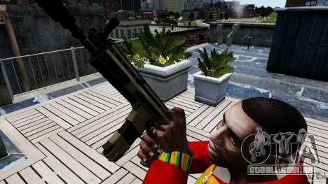SCAR-L para GTA 4 terceira tela