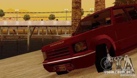 Huntley Freelander para GTA San Andreas vista inferior