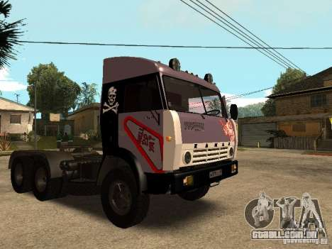 KAMAZ 5410 para GTA San Andreas vista inferior