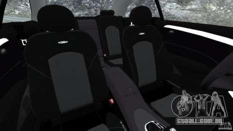 Mercedes-Benz CLK 63 AMG para GTA 4 vista interior