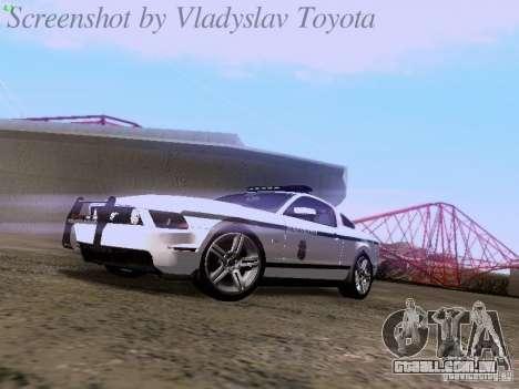 Ford Mustang GT 2011 Police Enforcement para GTA San Andreas