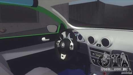 Volkswagen Saveiro 2013 para GTA San Andreas traseira esquerda vista