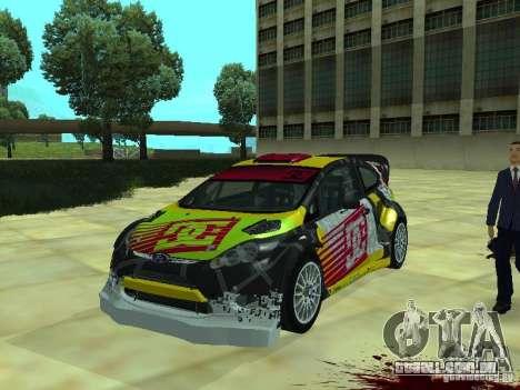 Ford Fiesta H.F.H.V. Ken Block Gymkhana 5 para GTA San Andreas