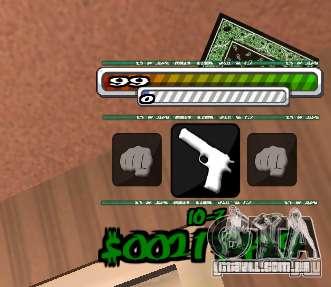 P-HUD para GTA San Andreas segunda tela