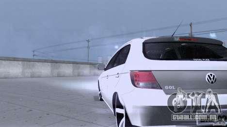 Volkswagen Golf G5 para GTA San Andreas vista interior