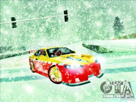 Nissan Silvia S15 Calibri-Ace para GTA San Andreas esquerda vista