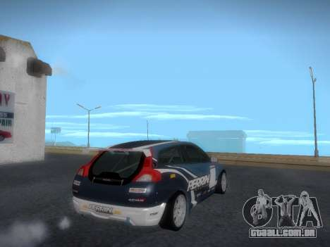 Volvo C30 Race para vista lateral GTA San Andreas
