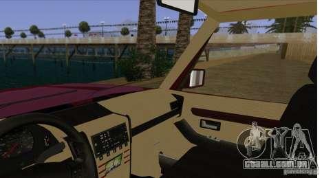 Huntley Freelander para GTA San Andreas vista interior