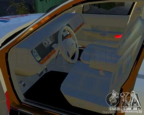 Ford Crown Victoria for FlyUS Car para GTA 4 esquerda vista
