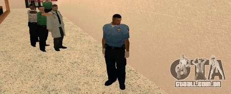 Medic Pack para GTA San Andreas por diante tela