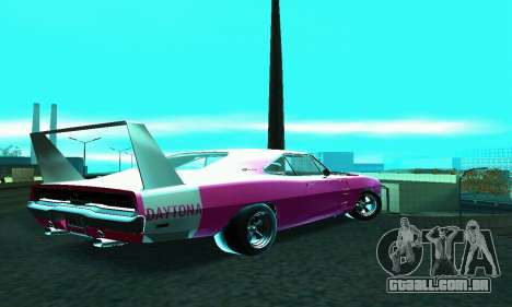 Dodge Charger Daytona SRT10 para GTA San Andreas esquerda vista