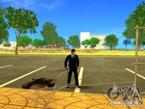 Escolher o jogo Minecraft para GTA San Andreas quinto tela