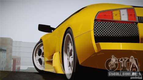 Lamborghini Murcielago 2002 v 1.0 para GTA San Andreas traseira esquerda vista