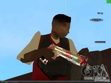Graffiti Gun Pack para GTA San Andreas oitavo tela