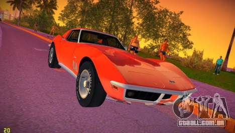 Chevrolet Corvette (C3) Stingray T-Top 1969 para GTA Vice City