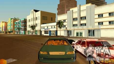 VOLVO V40 para GTA Vice City vista traseira