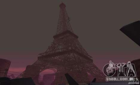A Torre Eiffel de Call of Duty: Modern Warfare 3 para GTA San Andreas