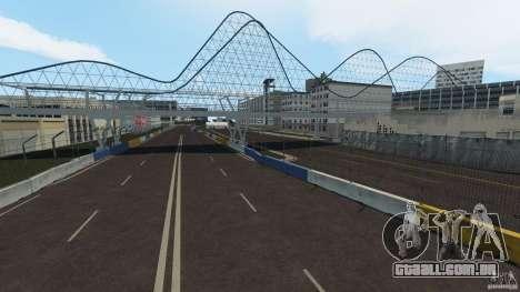 Long Beach Circuit [Beta] para GTA 4 quinto tela