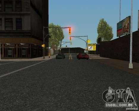 Novas texturas de estrada para GTA UNITED para GTA San Andreas sexta tela