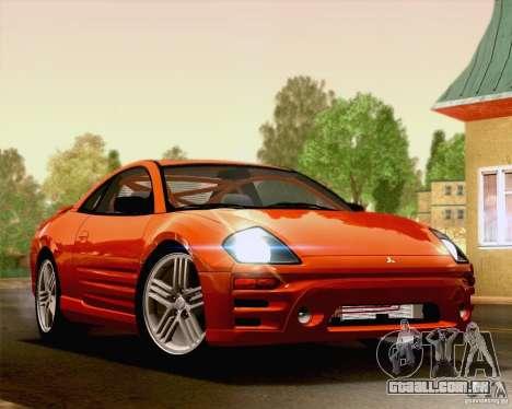 Mitsubishi Eclipse GTS 2003 para GTA San Andreas esquerda vista