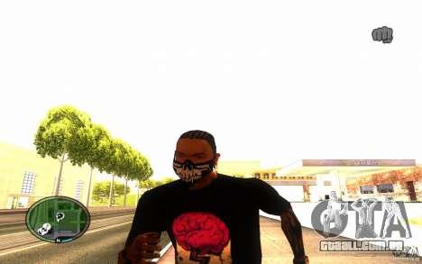 Skull Mask para GTA San Andreas quinto tela