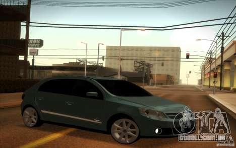 Volkswagen Golf G5 para GTA San Andreas vista direita