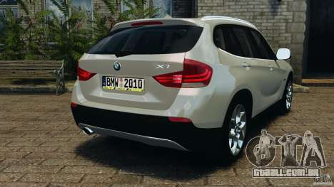 BMW X1 para GTA 4 traseira esquerda vista