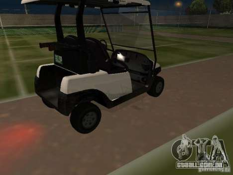 Transportador de GTA TBoGT para GTA San Andreas vista interior