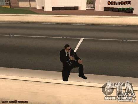 Gray weapons pack para GTA San Andreas