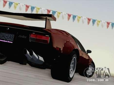 De Tomaso Pantera GT4 para GTA San Andreas vista superior