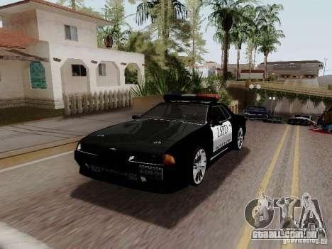 Elegy Police LS para GTA San Andreas