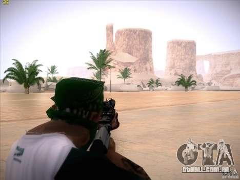 M4 Close Quarters Combat para GTA San Andreas terceira tela