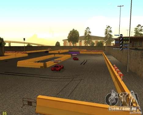 Circuito de tração para GTA San Andreas terceira tela