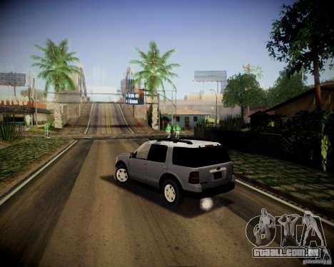 Ford Explorer para GTA San Andreas esquerda vista