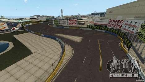 Long Beach Circuit [Beta] para GTA 4 por diante tela