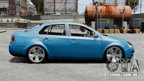 Volkswagen Jetta 2010 para GTA 4 esquerda vista