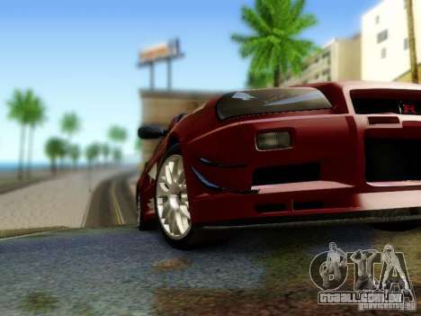 Nissan R34 Skyline GT-R para GTA San Andreas vista direita