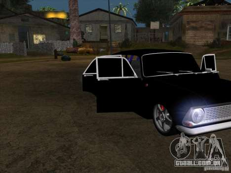 Estilo Extra Moskvitch 408 para GTA San Andreas traseira esquerda vista