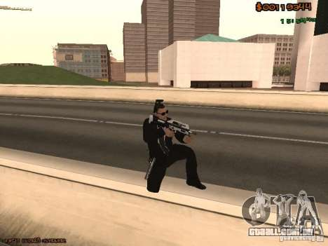 Gray weapons pack para GTA San Andreas por diante tela