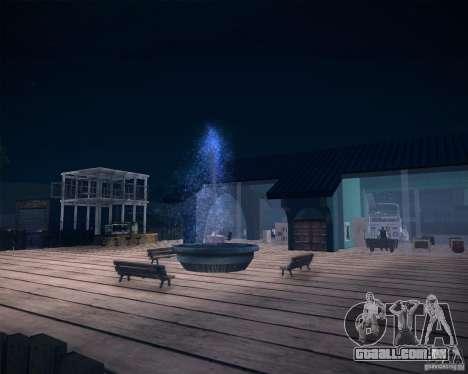 Beach House para GTA San Andreas sexta tela