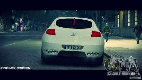 Bugatti Galibier 16C (Bug fix) para GTA 4 vista de volta