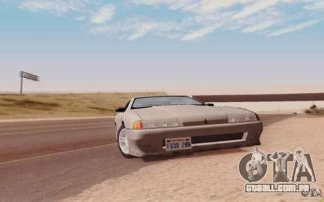 Elegy HD para GTA San Andreas traseira esquerda vista