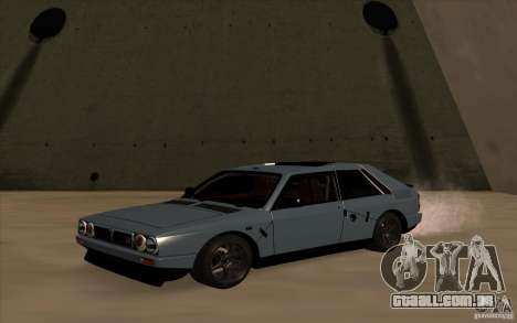 Lancia Delta Integrale para GTA San Andreas