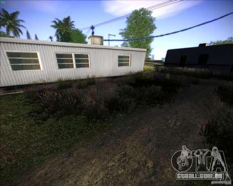 New grass para GTA San Andreas quinto tela