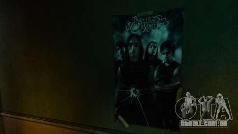 Novos posters no primeiro apartamento para GTA 4 quinto tela