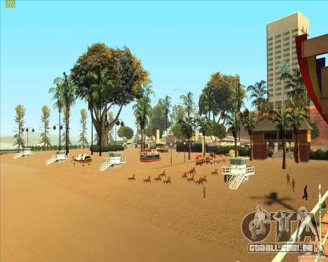 Modern beach in Los-Santos para GTA San Andreas