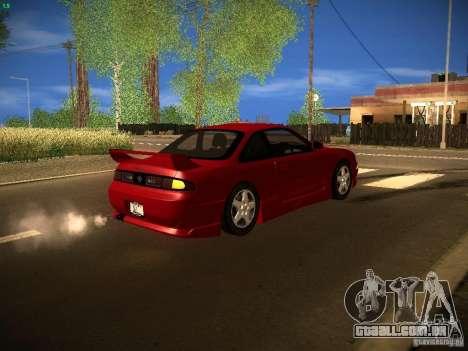 Nissan Silvia S14 Ks Sporty 1994 para GTA San Andreas vista interior