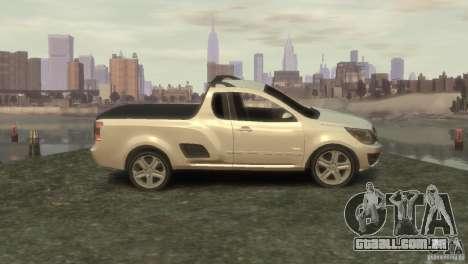 Chevrolet Montana Sport 2011 para GTA 4 esquerda vista